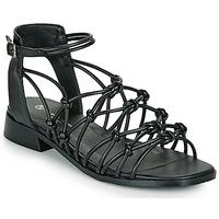 kengät Naiset Sandaalit ja avokkaat The Divine Factory LS1793H Musta