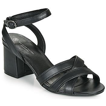 kengät Naiset Sandaalit ja avokkaat The Divine Factory LS2115 Musta