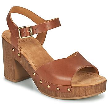 kengät Naiset Sandaalit ja avokkaat Unisa TACO Kamelinruskea
