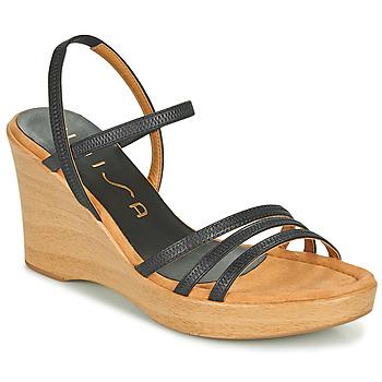 kengät Naiset Sandaalit ja avokkaat Unisa RENERA Musta