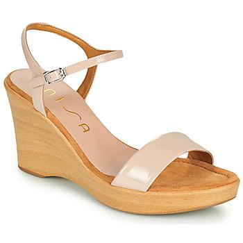kengät Naiset Sandaalit ja avokkaat Unisa RITA Vaaleanpunainen