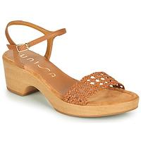 kengät Naiset Sandaalit ja avokkaat Unisa ILOBI Camel