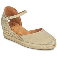 kengät Naiset Sandaalit ja avokkaat Unisa CISCA Beige