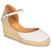 kengät Naiset Sandaalit ja avokkaat Unisa CACERES Valkoinen