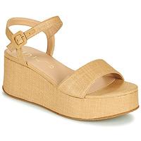 kengät Naiset Sandaalit ja avokkaat Unisa LAIKI Beige
