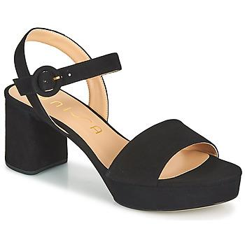 kengät Naiset Sandaalit ja avokkaat Unisa NENES Musta