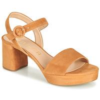 kengät Naiset Sandaalit ja avokkaat Unisa NENES Kamelinruskea