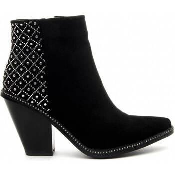 kengät Naiset Nilkkurit Azarey 68728 BLACK