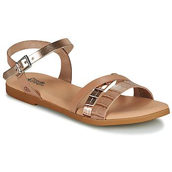kengät Tytöt Sandaalit ja avokkaat Citrouille et Compagnie OBINOU Kulta