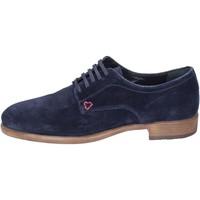 kengät Miehet Derby-kengät Triver Flight Klassikko BK951 Sininen