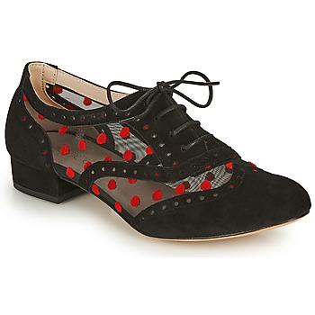 kengät Naiset Herrainkengät Fericelli ABIAJE Musta / Punainen