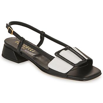 kengät Naiset Sandaalit ja avokkaat Fericelli PANILA Musta / Valkoinen