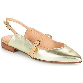 kengät Naiset Balleriinat Fericelli SUSANNA Kulta