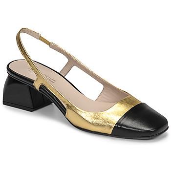 kengät Naiset Korkokengät Fericelli TOUBET Kulta / Musta