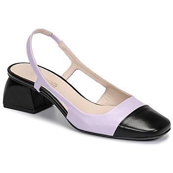 kengät Naiset Korkokengät Fericelli TIBET Violetti / Musta