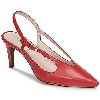 kengät Naiset Korkokengät Fericelli TIBET Punainen