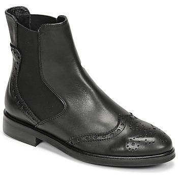 kengät Naiset Bootsit Fericelli CRISTAL Musta