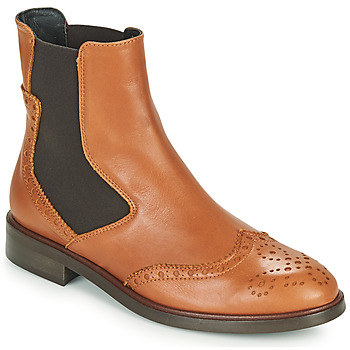 kengät Naiset Bootsit Fericelli CRISTAL Kamelinruskea