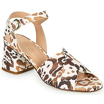 kengät Naiset Sandaalit ja avokkaat Fericelli BIG Beige / Kulta