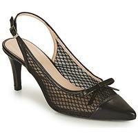 kengät Naiset Korkokengät Fericelli CUIRDAIM Musta