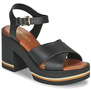 kengät Naiset Sandaalit ja avokkaat Sweet Lemon LUPOLE Musta