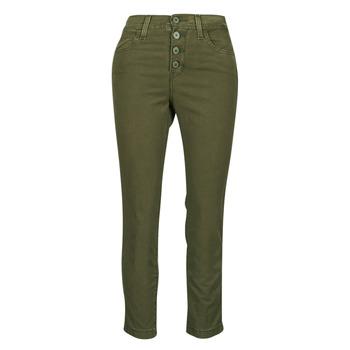 vaatteet Naiset 5-taskuiset housut Levi's SOFT CANVAS OLIVE NIGHT OD Kaki