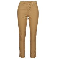 vaatteet Naiset 5-taskuiset housut Levi's SOFT CANVAS TOASTED COCONUT OD Beige