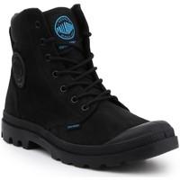 kengät Miehet Bootsit Palladium Manufacture Pampa Cuff WP LUX 73231-001-M black