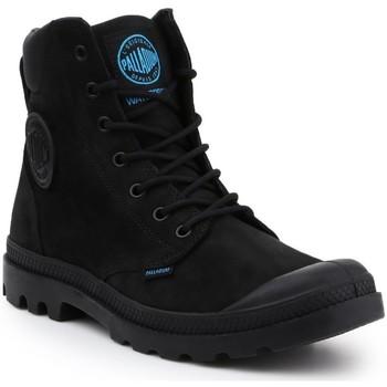 kengät Miehet Bootsit Palladium Pampa Cuff WP LUX 73231-001-M black