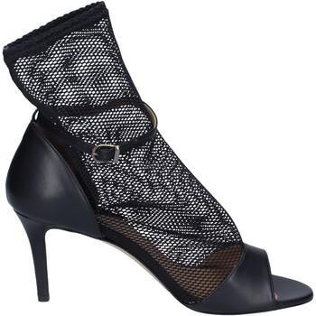 kengät Naiset Sandaalit ja avokkaat Stephen Good Sandali Pelle Tessuto Nero