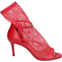 kengät Naiset Sandaalit ja avokkaat Stephen Good Sandali Pelle Tessuto Rosso