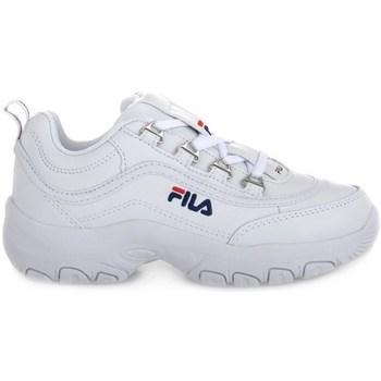 kengät Lapset Matalavartiset tennarit Fila Strada Low Junior Valkoiset