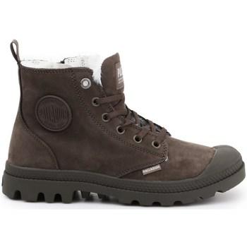kengät Naiset Talvisaappaat Palladium Manufacture Pampa HI Zip WL Ruskeat