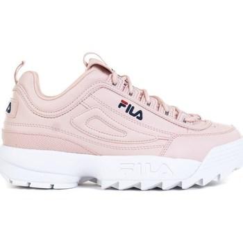 kengät Tytöt Matalavartiset tennarit Fila Disruptor Kids Vaaleanpunaiset