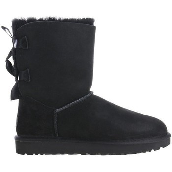 kengät Naiset Talvisaappaat UGG Bailey Bow II Mustat
