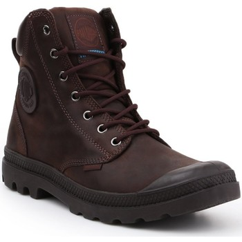 kengät Korkeavartiset tennarit Palladium Pampa Cuff WP LUX 73231-249-M brown