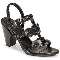 kengät Naiset Sandaalit ja avokkaat Mimmu TRECCIA-P-NERO Musta