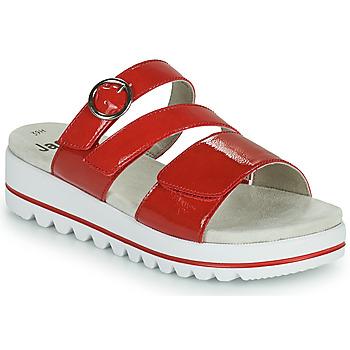 kengät Naiset Sandaalit Jana JANITA Punainen