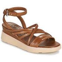 kengät Naiset Sandaalit ja avokkaat Mjus PLATITUAN Camel