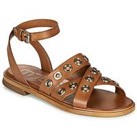 kengät Naiset Sandaalit ja avokkaat Mjus GRAM Kamelinruskea