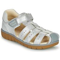 kengät Tytöt Sandaalit ja avokkaat Clarks ROAM BAY K Hopea