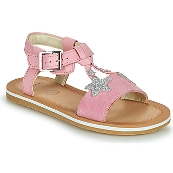 kengät Tytöt Sandaalit ja avokkaat Clarks FINCH SUMMER K Vaaleanpunainen