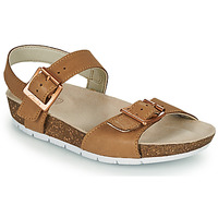 kengät Lapset Sandaalit ja avokkaat Clarks RIVER SAND K Kamelinruskea