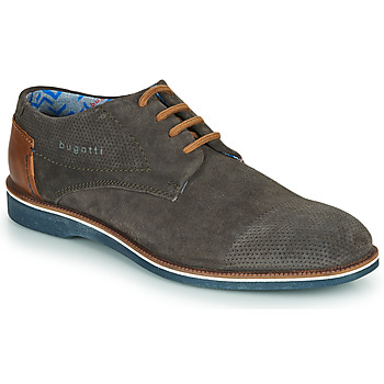 kengät Miehet Derby-kengät Bugatti MELCHIORE Harmaa / Fonce