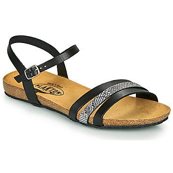 kengät Naiset Sandaalit ja avokkaat Plakton MAM ALOU Musta