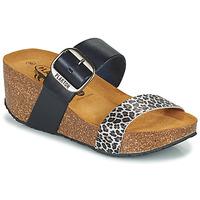kengät Naiset Sandaalit Plakton SO ROCK Sininen / Leopardi