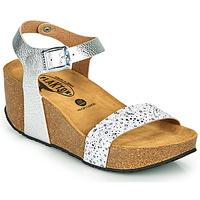 kengät Naiset Sandaalit ja avokkaat Plakton SO KISS Hopea