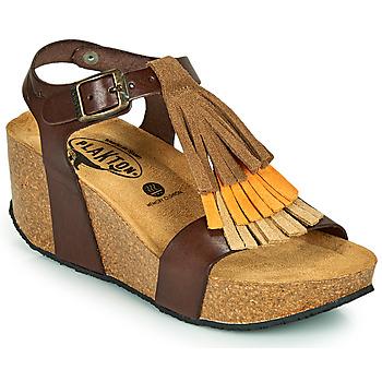 kengät Naiset Sandaalit ja avokkaat Plakton SO TONKA Ruskea