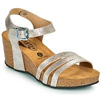 kengät Naiset Sandaalit ja avokkaat Plakton BRESCIA Hopea