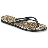 kengät Naiset Varvassandaalit Havaianas SLIM LEOPARD Monivärinen